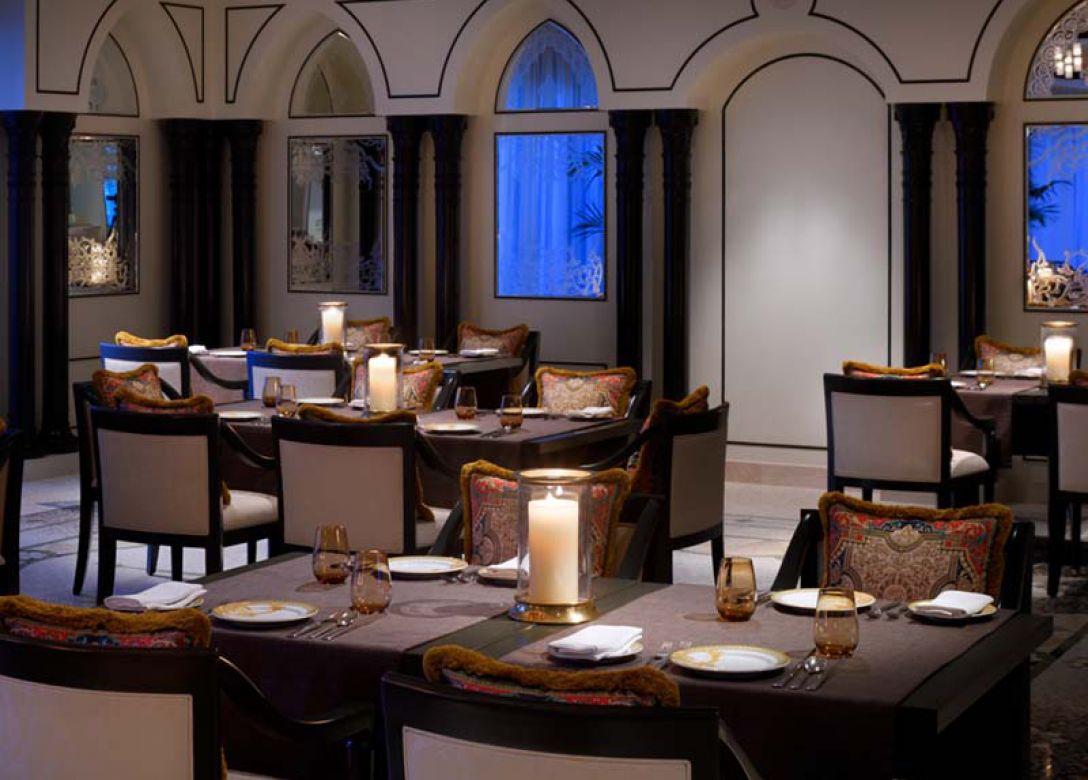 Enigma, Palazzo Versace Dubai - Credit Card Restaurant Offers