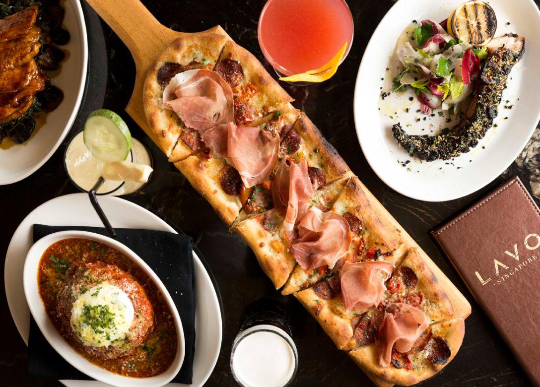 LAVO Italian Restaurant & Rooftop Bar, Marina Bay Sands