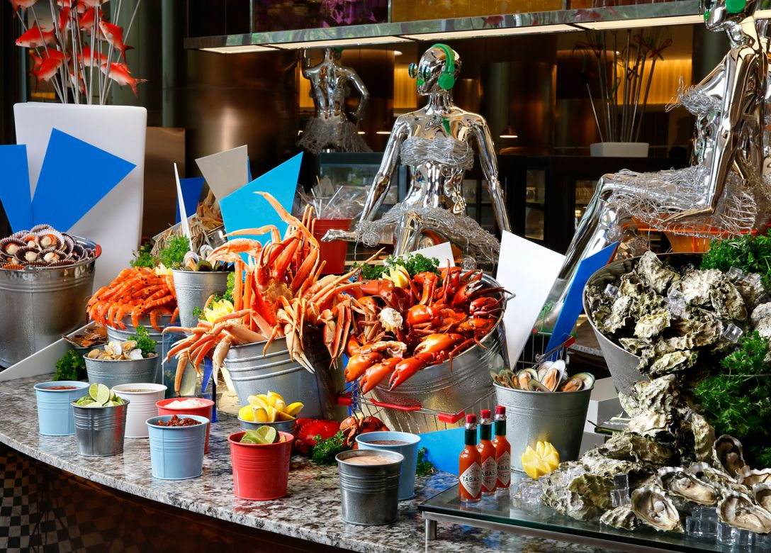 Food Capital, Grand Copthorne Waterfront Hotel Singapore