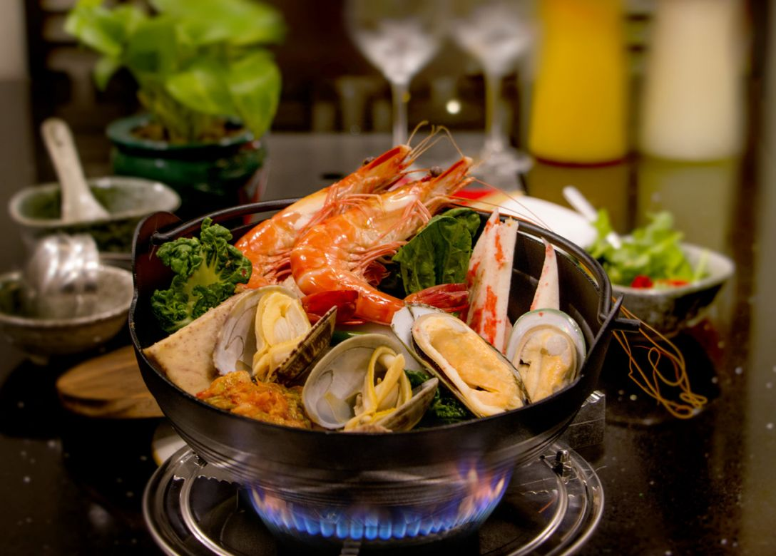 Hua Ting Steamboat, Orchard Hotel Singapore