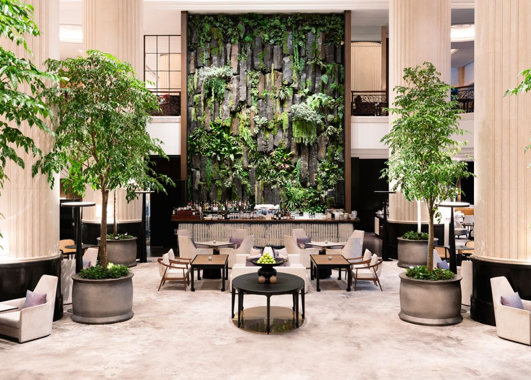 The Lobby Lounge, Shangri-La Hotel, Singapore