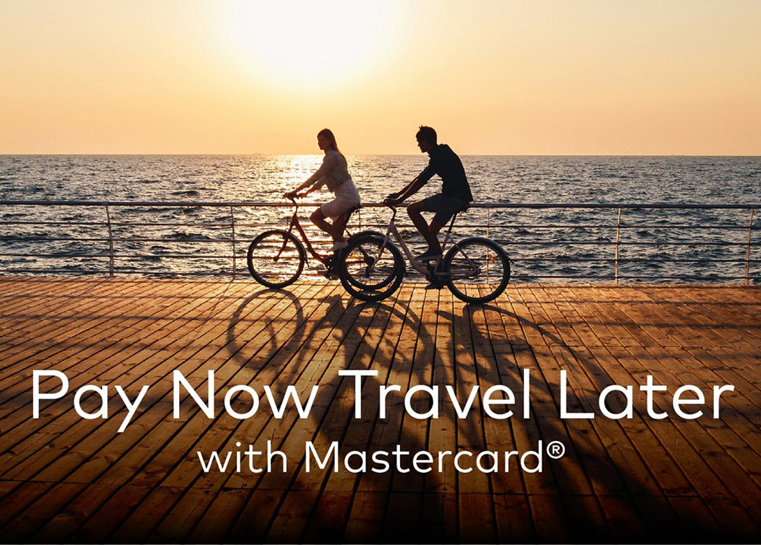 Pay Now Travel Later with Mastercard