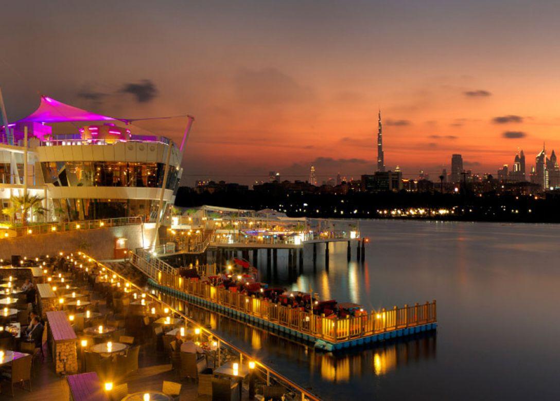 QD's, Dubai Creek Golf & Yacht Club - Credit Card Restaurant Offers