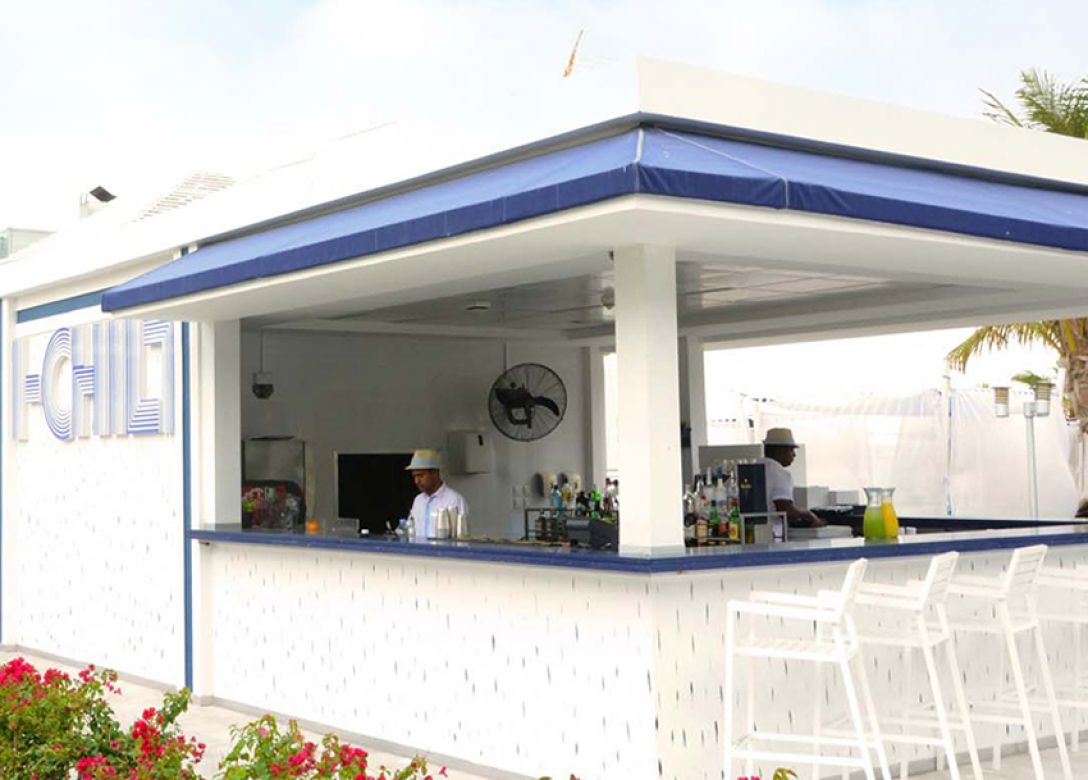 I-chill Beach Lounge - Credit Card Bar Offers