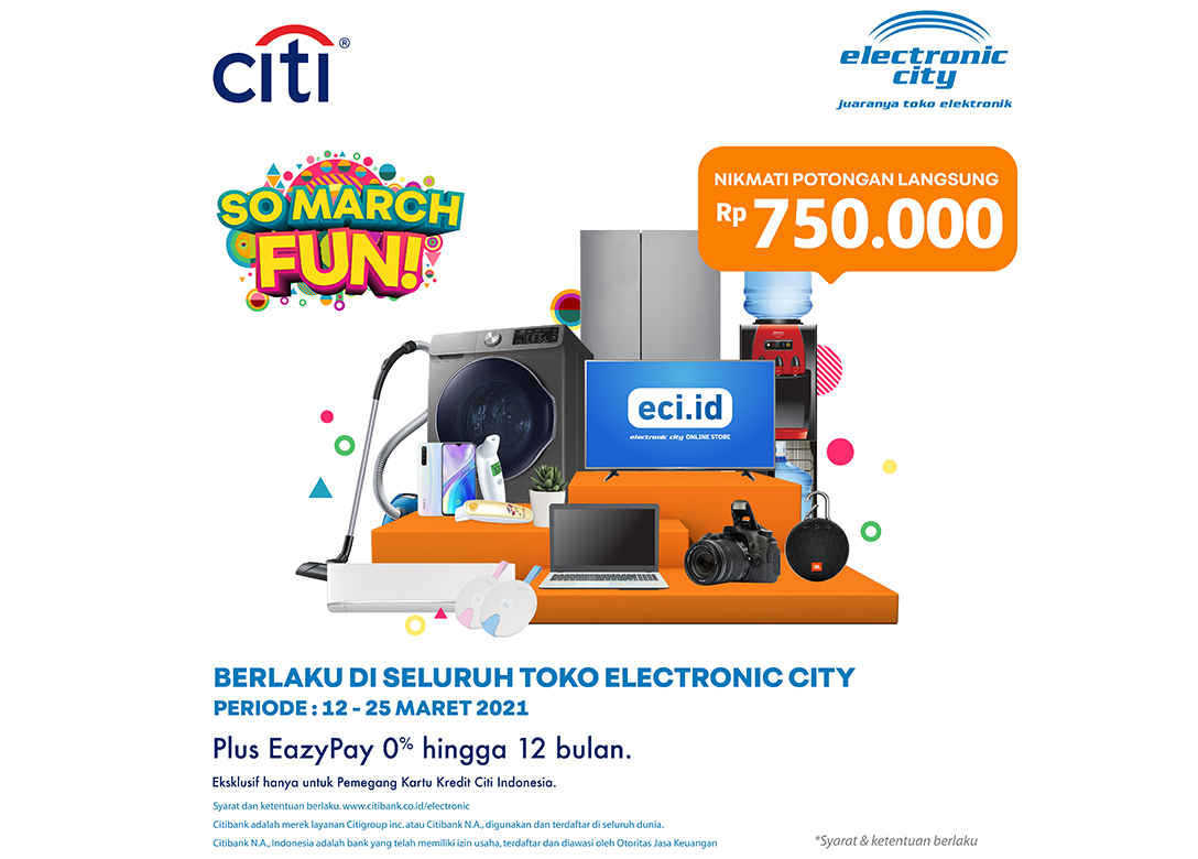 Electronic City - Credit Card Shopping Offers