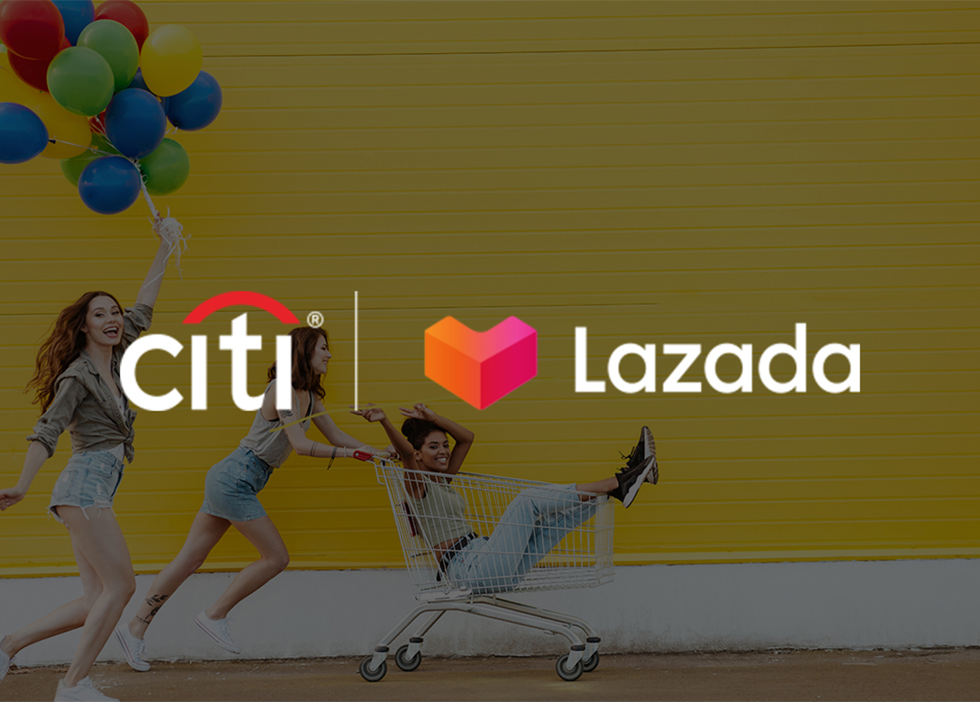 Lazada - Credit Card Shopping Offers