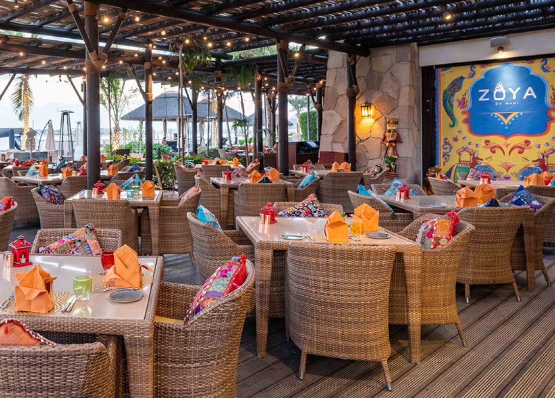 Zoya by Maui, Sofitel Dubai The Palm - Credit Card Restaurant Offers