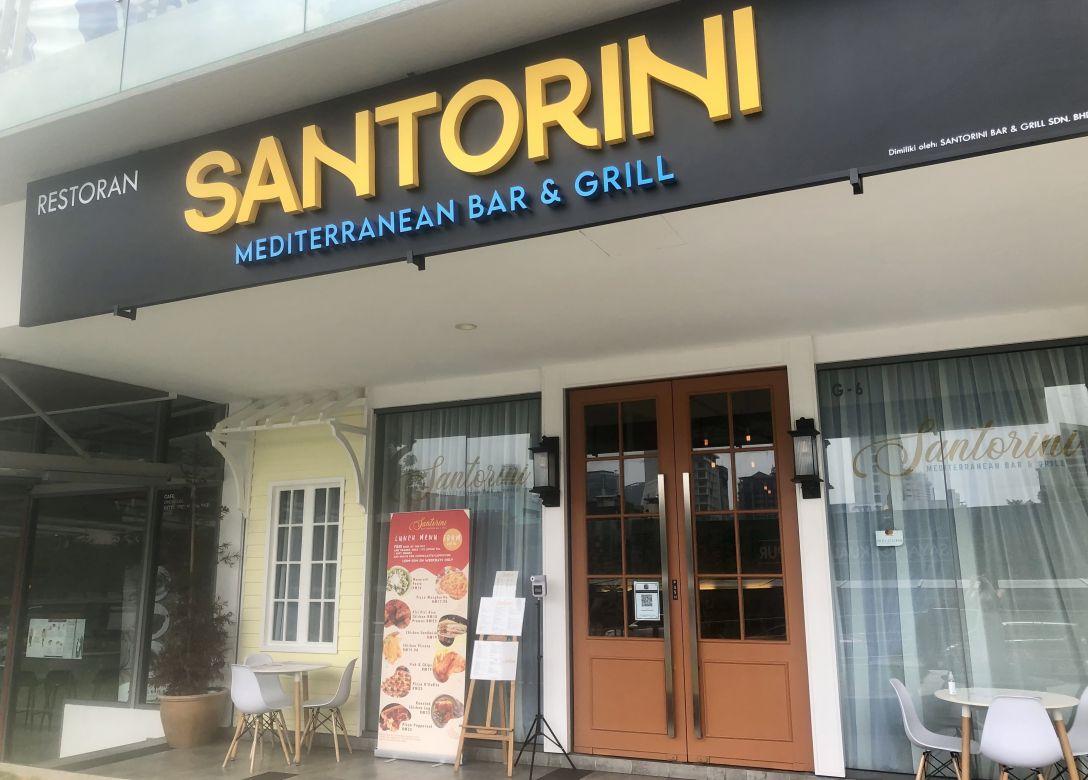 Santorini Mediterranean Bar & Grill - Credit Card Restaurant Offers