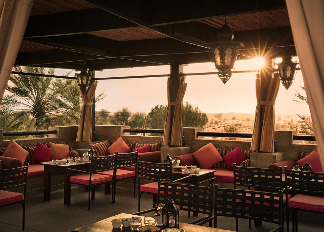 Al Sarab rooftop lounge, Bab Al Shams Desert Resort - Credit Card Restaurant Offers